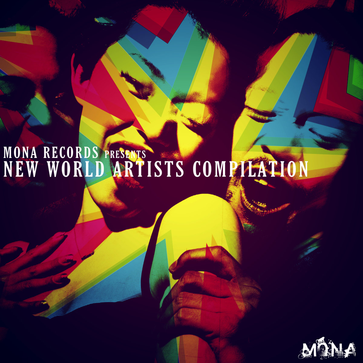cover Mona Records New World Artists Compilation monarecords