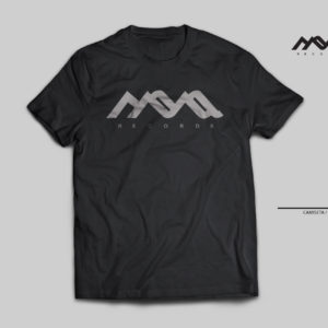 camiseta techno, mona records, plata